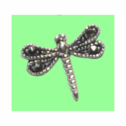 Dragonfly Marcasite Earrings