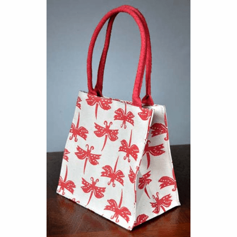 Dragonfly Mini Bag, Coral