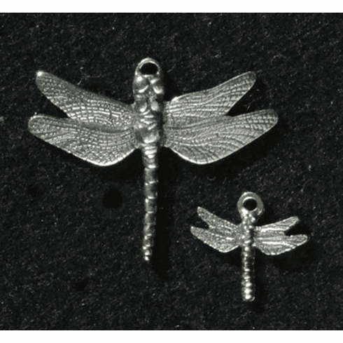 Dragonfly Pewter Charm