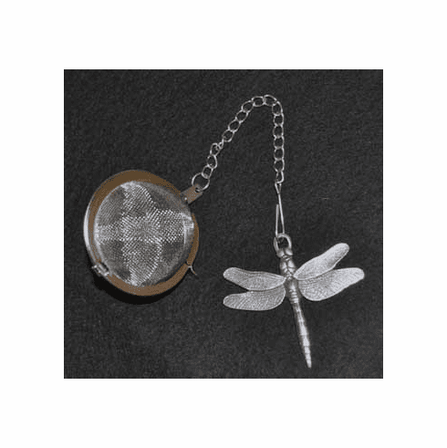 Dragonfly Pewter Tea Ball