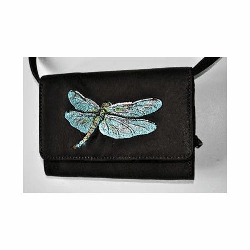 Dragonfly Purse Organizer, Dark Brown