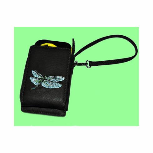 Dragonfly Smart Phone Wallet, Dark Brown