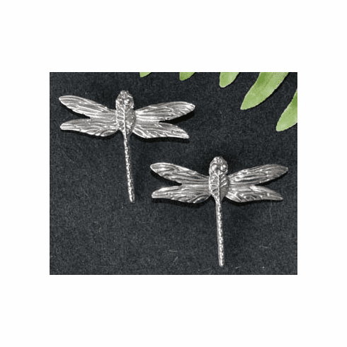 Dragonfly Sterling Silver Post Earrings