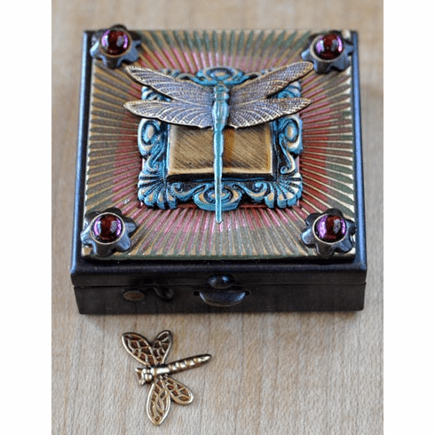 Dragonfly Wish Box