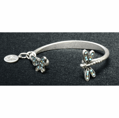 Garden Beauties Bangle Bracelet