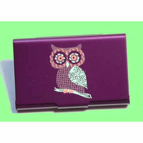 Hoot Owl Card Case