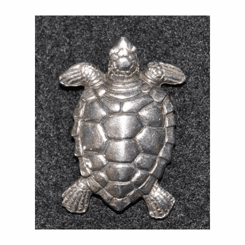 Pewter Sea Turtle Tac Pin