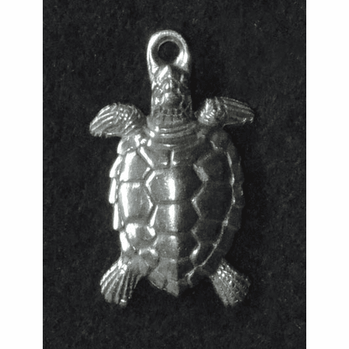 Pewter Turtle Charm