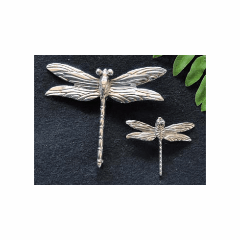 Small Dragonfly Sterling Silver Pendant