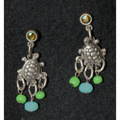 Tortuga Sea Turtle Earrings