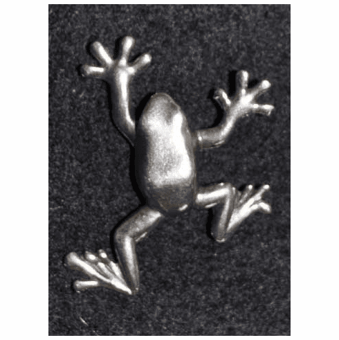 Tree Frog Pewter Tac Pin