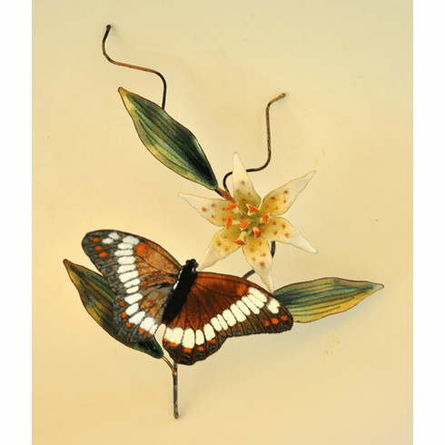White Admiral Wall Sculpture