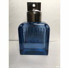 <B>Eternity Aqua by Calvin Klein</B> for Men<P> 3.4 oz EDT Spray No Box