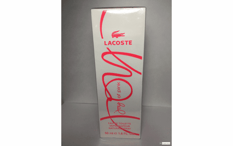 <B>Joy of Pink by Lacoste</B> for Women <P>1.6 oz EDT Spray SEALED