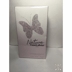 <B>Nature by Franck Olivier</B> for Women <P>2.5 oz Eau de Parfum Spray SEALED