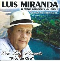 Luis Miranda - 19 éxitos originales Vol. 2