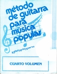 Método de Guitarrra para música popular VOL. 4