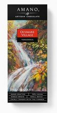 Amano Ocumare 70% Cocoa, Dark Chocolate Bar, 2oz / 56g (12 Pack)