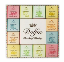"Dolfin Belgian Chocolate - ""Dark & Milk Spice Assortment"" 48 Squares 216g/7.6oz"