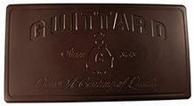 "Guittard Chocolate - ""B/R Dark"" Semi - Sweet Dark Chocolate Block, 50 Pound Case(5 Pack)"