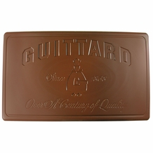 "Guittard Chocolate - ""Belmont"" Dark Milk Chocolate Block, 35% Cocoa, 5 Block Case, 50 Pounds (5 Pack)"