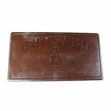 "Guittard Chocolate - ""Eclipse"" Semi - Sweet Dark Chocolate Block, 63% Cocoa, 10lb. (Single)"