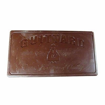 "Guittard Chocolate - ""Heritage"" Milk Chocolate BLOCK, 32.5% Cocoa, 5 Block Case, 50 Pounds (5 Pack)"
