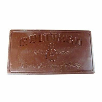 "Guittard Chocolate - ""Molding Heritage"" Milk Chocolate Block, 32.5% Cocoa, 10lb. (Single)"