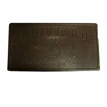 "Guittard Chocolate - ""Monaco"" Semi - Sweet Dark Chocolate Block, 56% Cocoa, 5 Block Case, 50 Pounds (5 Pack)"