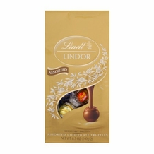 Lindt Assorted Chocolate Truffles, 8.5oz Bag (Single)