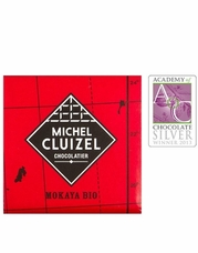 Michel Cluizel French Chocolate - 66% 1st Cru de Plantation Mokaya Dark Chocolate, Single Estate, 5gr. ea, 12ct Bag (Single)