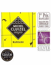Michel Cluizel French Chocolate - 65% 1st Cru de Plantation Mangaro Dark Chocolate, Single Estate, 5gr. ea., 12ct. Bag(Single).
