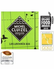 Michel Cluizel French Chocolate - 67% 1st Cru de Plantation Los Ancones Dark Chocolate, Single Estate, 5gr. ea., 12ct. Bag (Single).