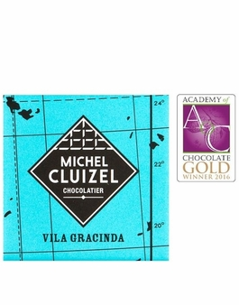 "Michel Cluizel French Chocolate - 67% 1st Cru de Plantation ""Vila Gracinda"" Dark Chocolate, Single Estate, 5gr. ea., 12ct. Bag (Single)."