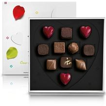Michel Cluizel No. 11 Valentine's Milk & Dark Chocolate Pralin�s