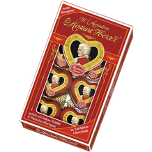 Reber Mozart Eight Piece Chocolate Heart Gift Box