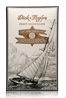 Dick Taylor Espresso 68% Dark Chocolate Bar with Sightglass Coffee