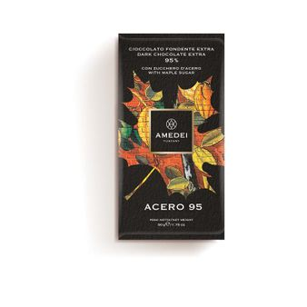 Amedei Acero 95% Dark Chocolate Bar