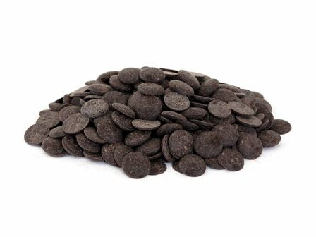 """Guittard Chocolate - Guittard's Classic """"Oban"""" Cocoa Liquor (Unsweetened Chocolate) Wafers - 50 Pound Case"""