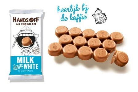 Hands Off My Chocolate Milk Meets White Chocolate Bar - Case of Twelve