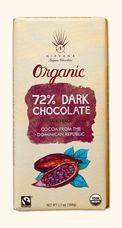 Nirvana 72% Dark Chocolate Bar
