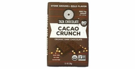 Taza Cacao Crunch, 80% Cocoa 2.5oz (Pack of 5)