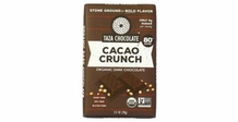 Taza Cacao Crunch, 80% Cocoa 2.5oz (single)