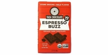 Taza Espresso Buzz 70% Cocoa Dark Chocolate, 2.5oz (Single)