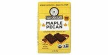 Taza Maple Pecan 70% Cocoa Dark Chocolate 2.5oz