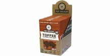 Taza Toffee Almond & Sea Salt, 60% Cocoa, 2.5oz (Pack of 10)