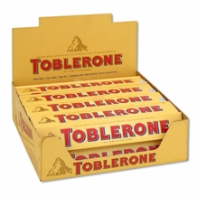 Toblerone Milk & Honey Nougat 3.52/100g (Pack of 20)