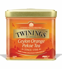 Twinings- Ceylon Orange Pekoe Tea, Loose Tea, 3.53oz/100g (6 Pack)