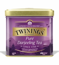 Twinings-Darjeeling Tea, Loose Tea, 3.53oz/100g (6 Pack)