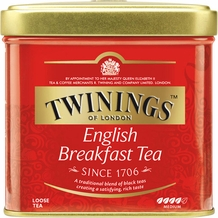 Twinings-English Breakfast Tea, Loose Tea, 3.53oz/100g (Single)